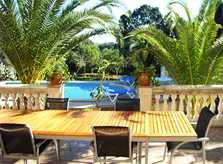 Terrasse Finca Mallorca Arta für 10 Personen PM 542