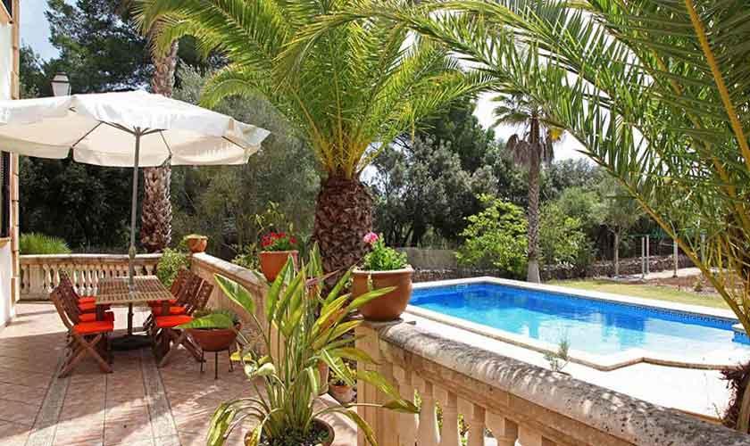 Poolblick Finca Mallorca 10 Personen PM 542