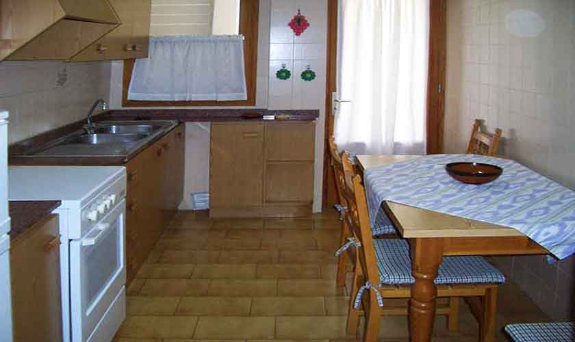 Küche Ferienwohnung Cala Ratjada Mallorca PM 546