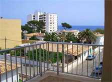 Meerblick von der Ferienwohnung Mallorca PM 546