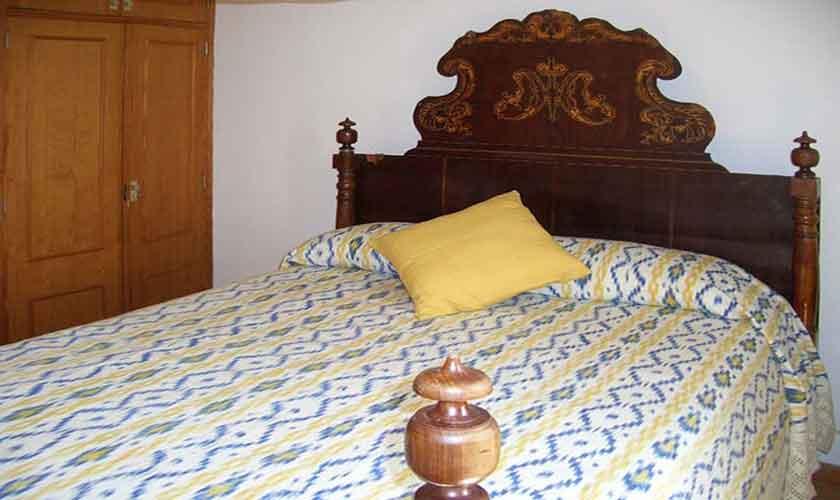 Schlafzimmer Ferienwohnung Cala Ratjada Mallorca PM 546