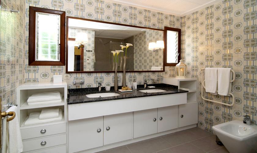Badezimmer Ferienhaus Mallorca PM 5474