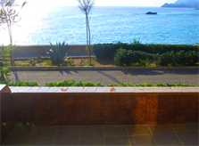 Blick zum Meer Ferienhaus Mallorca Cala Ratjada für 5 Personen PM 547