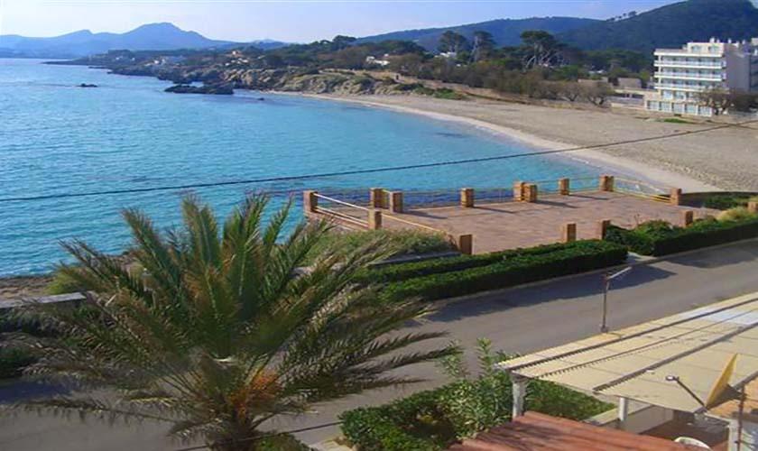 Blick auf den Strand Ferienhaus in Cala Ratjada  PM 547