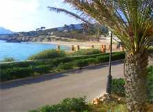 Der Weg zum Strand Ferienhaus Mallorca PM 547