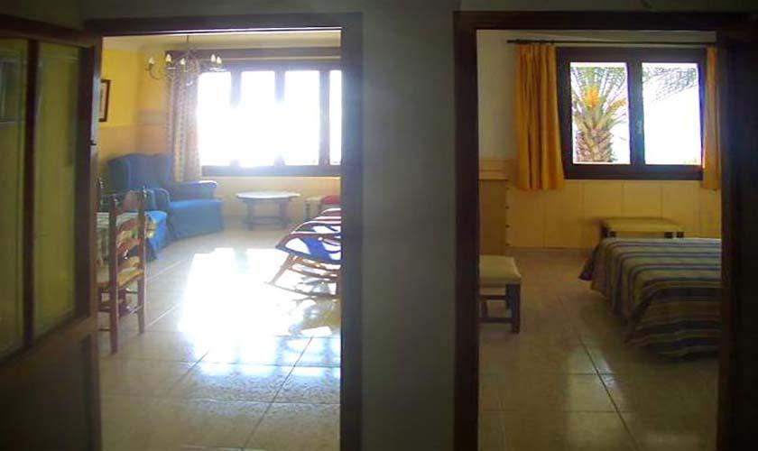 Wohnraum Ferienhaus Mallorca Cala Ratjada am Son Moll Strand PM 547