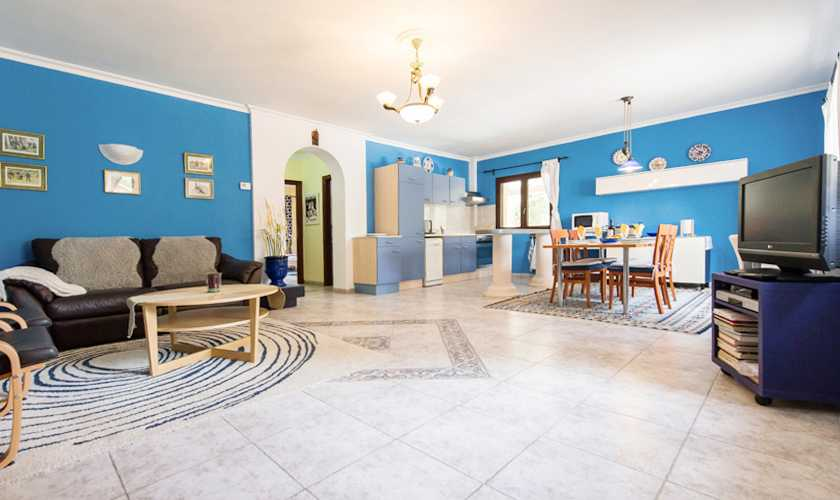 Wohnraum Finca Mallorca 4 Personen PM 549