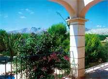 Blick voln der Ferienvilla Mallorca Nordosten PM 550