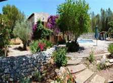 Blick auf die Finca Mallorca Nordosten PM 550