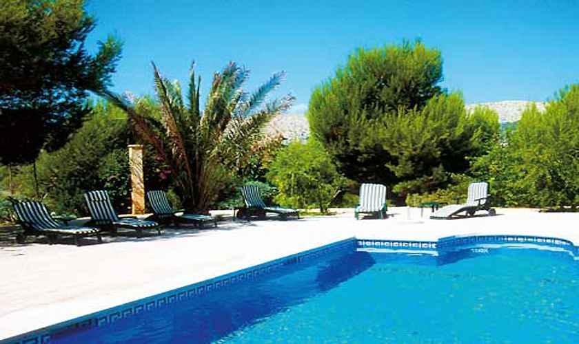 Pool derFerienvilla Mallorca Nordosten PM 550