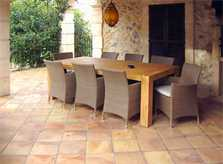 Terrasse Ferienhaus Mallorca Nordosten PM 550