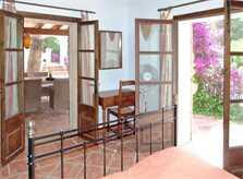 Schlafzimmer Ferienhaus Mallorca Nordosten PM 550