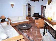 Wohnraum Ferienhaus Mallorca Nordosten PM 550