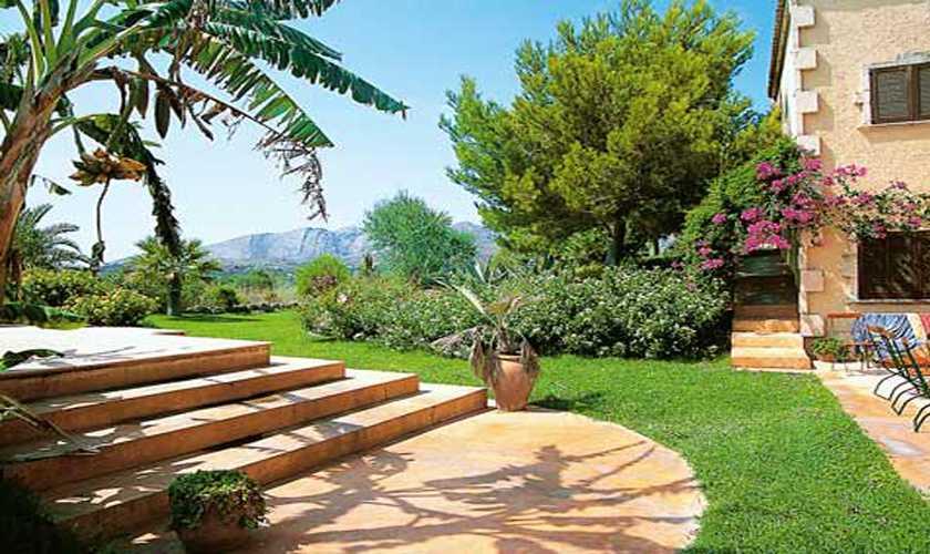 Garten Finca Mallorca Nordosten für 10 - 15 Personen PM 551