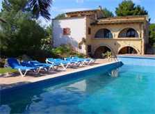Pool und Finca Mallorca mit Tennisplatz PM 551