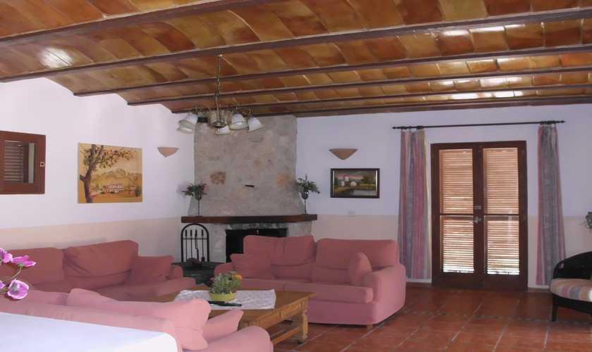 Wohnraum Finca Mallorca 10 - 15 Personen PM 551
