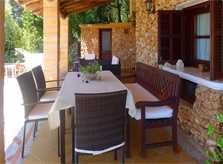 Überdachte Terrasse Finca Mallorca Arta PM 5530