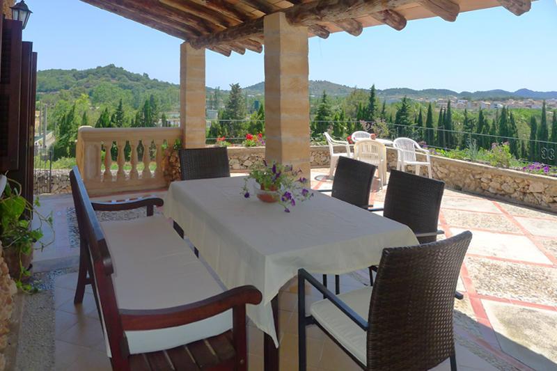Terrasse Finca Mallorca Arta PM 5530