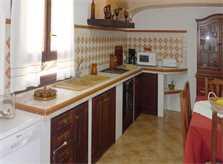 Küche Ferienvilla Mallorca Arta PM 5531