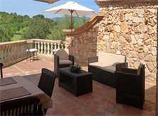 Terrasse Ferienvilla Mallorca Arta PM 5531