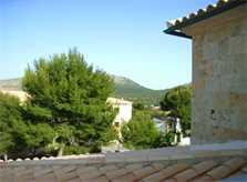 Blick von oben Ferienhaus Mallorca PM 554