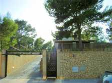 Einfahrt zum Ferienhaus Mallorca PM 554