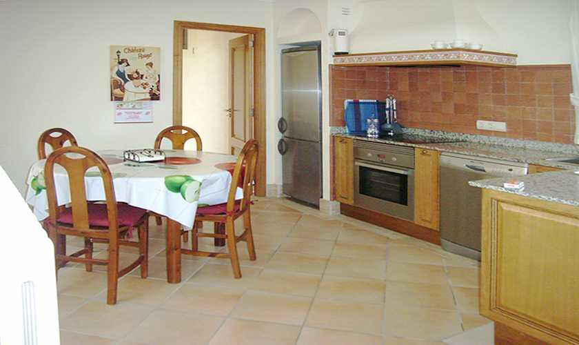 Küche Ferienhaus Mallorca PM 554