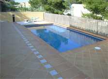 Poolblick Ferienhaus Mallorca PM 554
