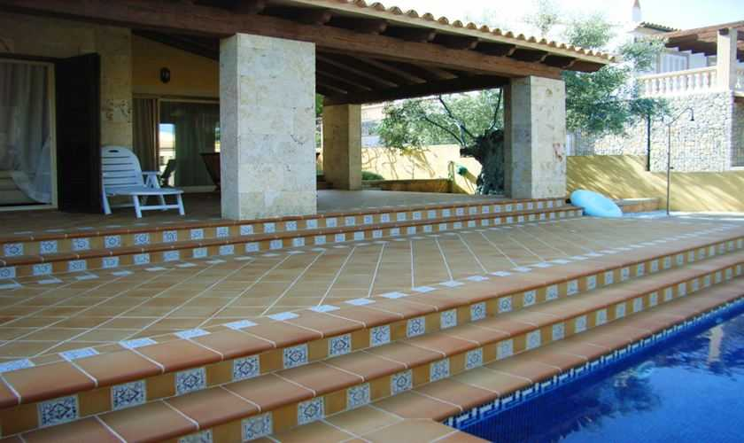 Terrasse Ferienhaus Mallorca PM 554