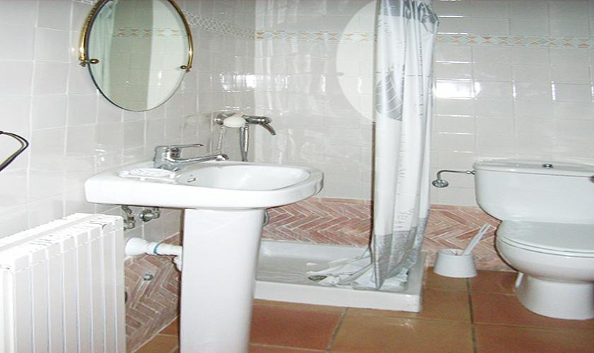 Badezimmer Finca Mallorca Nordosten 10 Personen PM 5591
