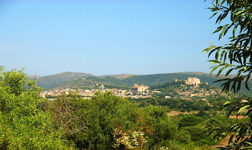 Blick Finca Mallorca Nordosten 10 Personen PM 5591