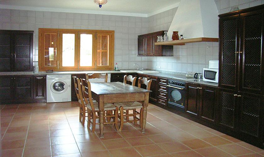 Küche Finca Mallorca Nordosten 10 Personen PM 5591
