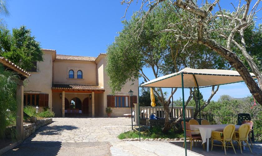 Blick auf die Finca Mallorca 10 Personen PM 5591