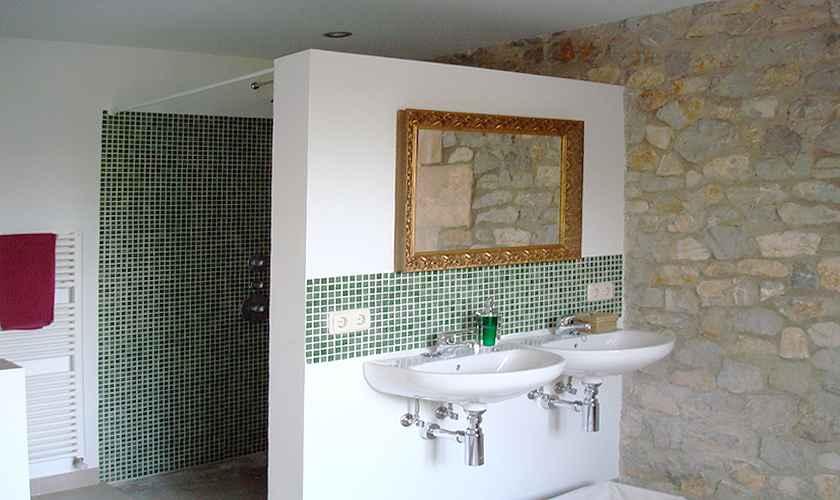 Badezimmer Ferienfinca Mallorca Nordosten  PM 5595