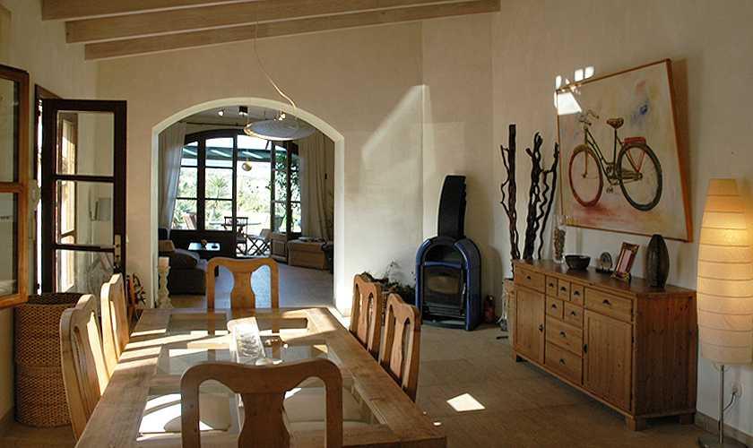 Esstisch Ferienfinca Mallorca Nordosten  PM 5595