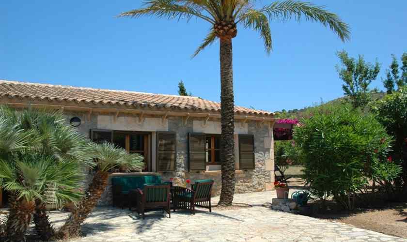 Blick auf die Finca Mallorca Nordosten PM 5595