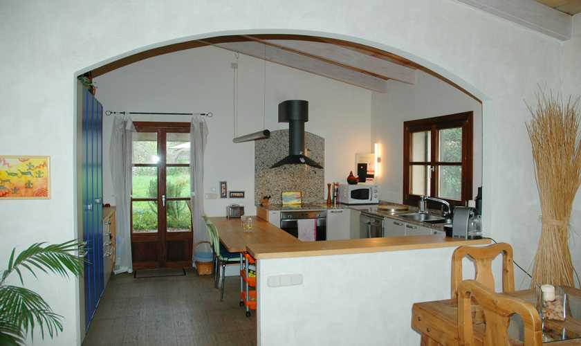 Küche Ferienfinca Mallorca Nordosten  PM 5595