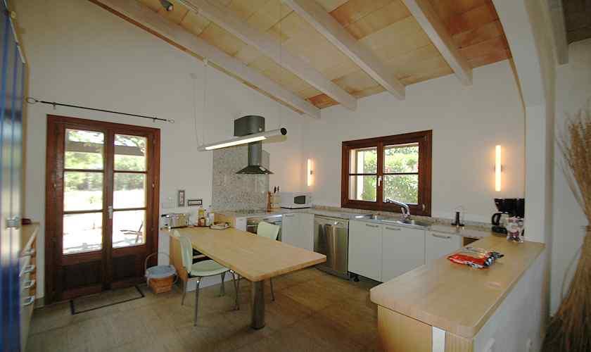Küche Finca Mallorca Nordosten PM 5595