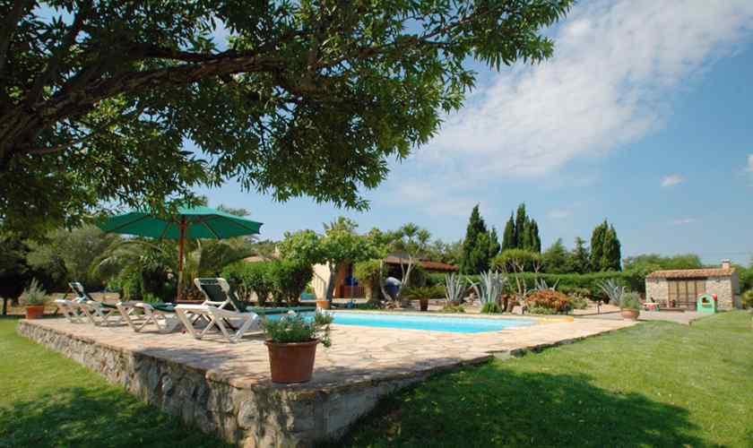 Poolblick Finca Mallorca Nordosten PM 5595