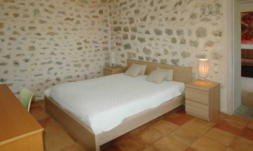 Schlafzimmer Ferienfinca Mallorca Nordosten  PM 5595