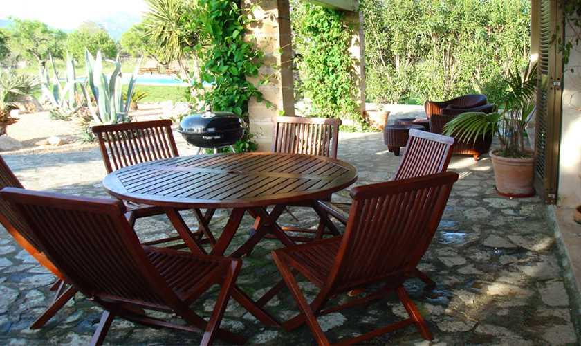 Terrasse Finca Mallorca 6 Personen PM 5595