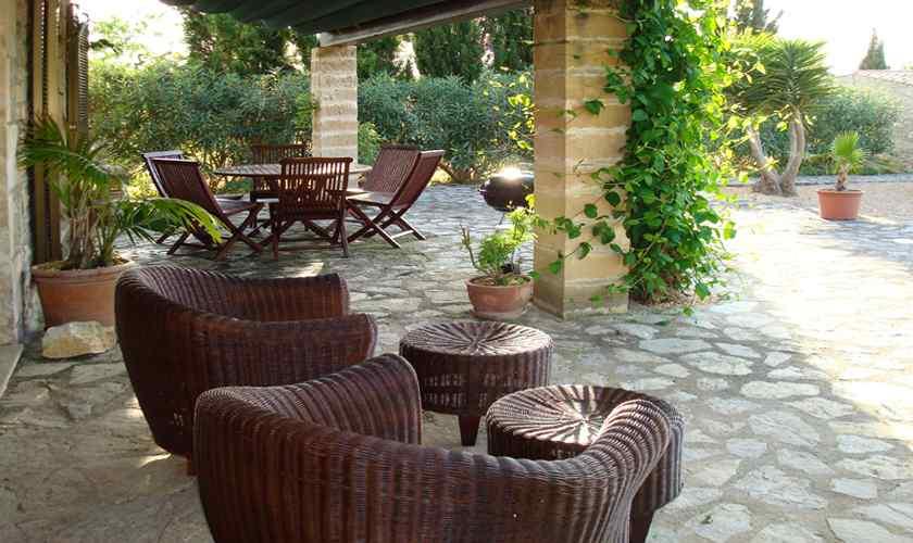 Terrasse Finca Mallorca Nordosten PM 5595