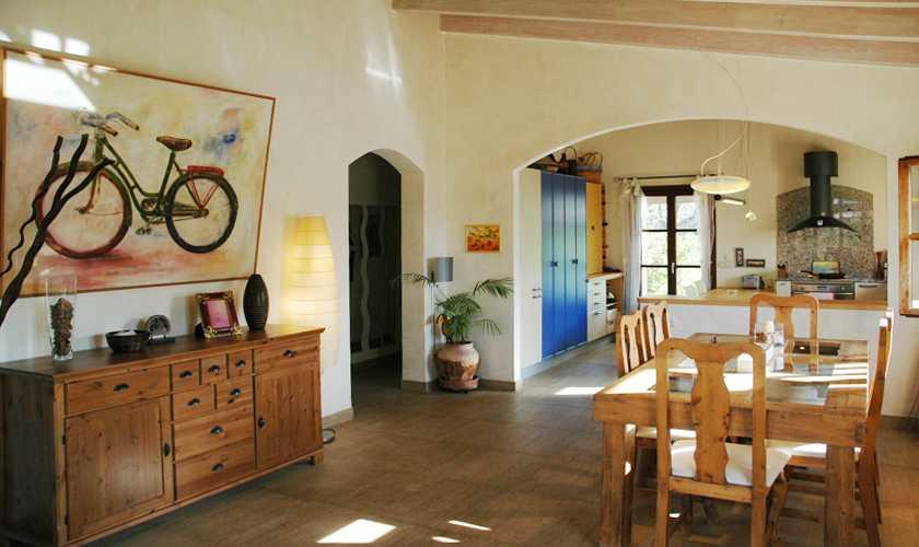 Wohnraum Finca Mallorca 6 Personen PM 5595