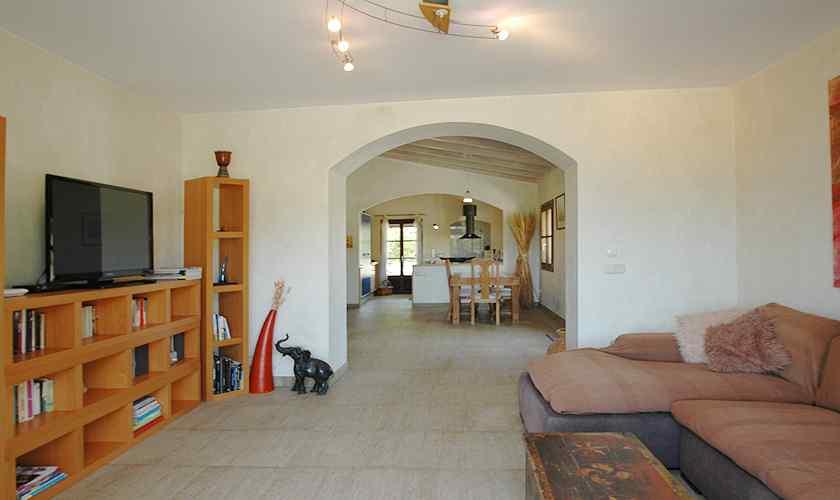 Wohnraum  Finca Mallorca Nordosten PM 5595