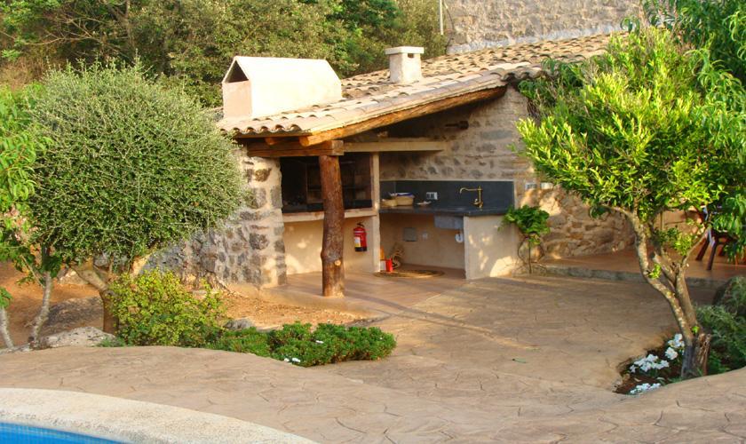 Barbecue Finca Mallorca bei Arta PM 559