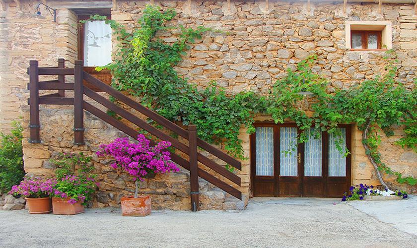 Blick auf die Finca Mallorca bei Arta PM 559
