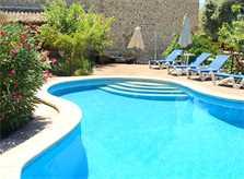Poolblick Finca Mallorca bei Arta PM 559