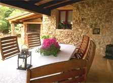 Terrasse Finca Mallorca bei Arta PM 559