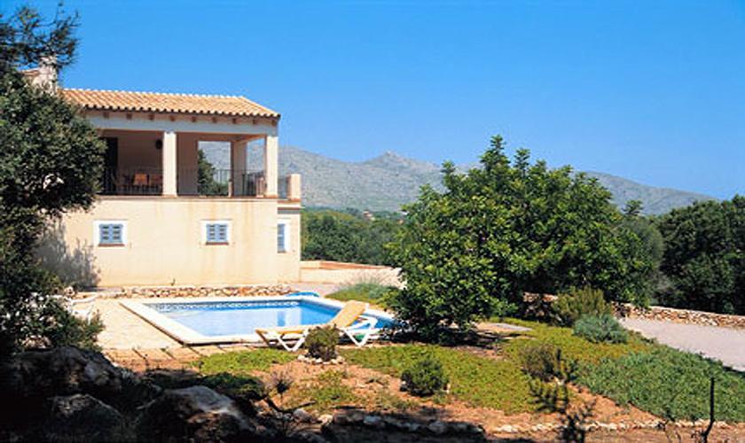 Pool und Finca Mallorca bei Arta PM 563