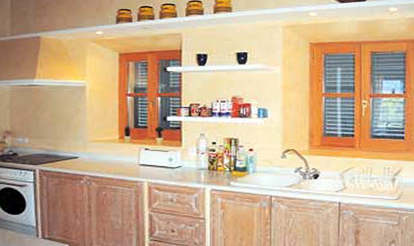 Küche Finca Mallorca bei Arta für 6 Personen PM 563